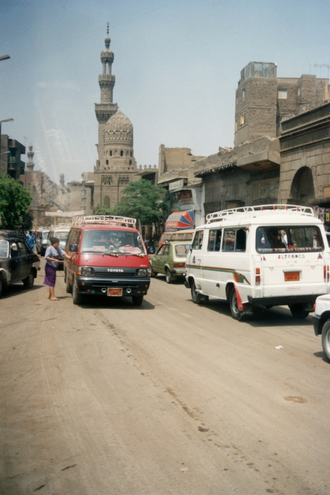 A view of Cairo's Old City