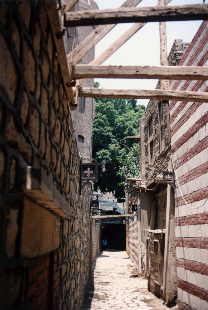 Old Cairo alleyway