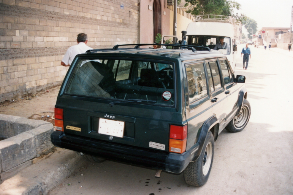 Jeep Grand Cherokee in Cairo