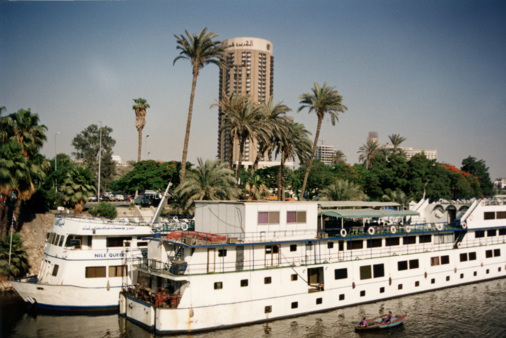 Yet another view of the Nile and boats