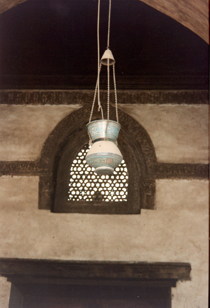 Lamp at Ibn Tulun mosque