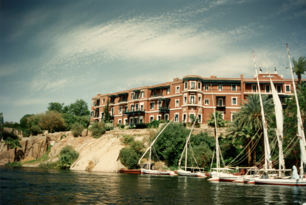 The Old Cataract Hotel, where Agatha Christie wrote _Death on the Nile_