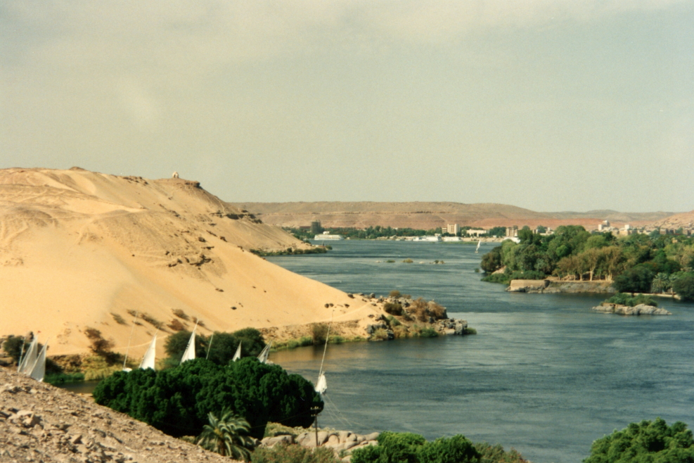 Another view of the Nile from Aga Khan