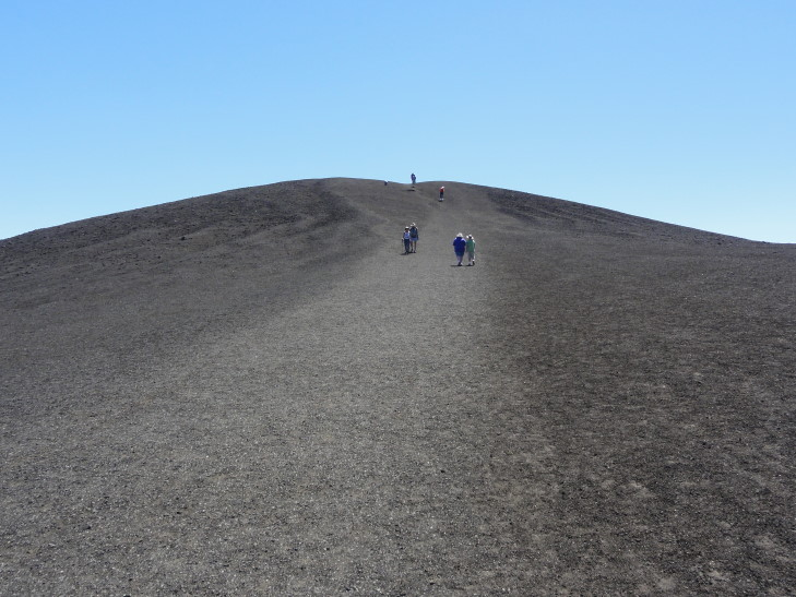 Trail up the cinder cone, Craters of the Moon NM, Idaho