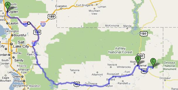 Route for July 21, 2010