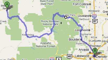Route for July 23, 2010