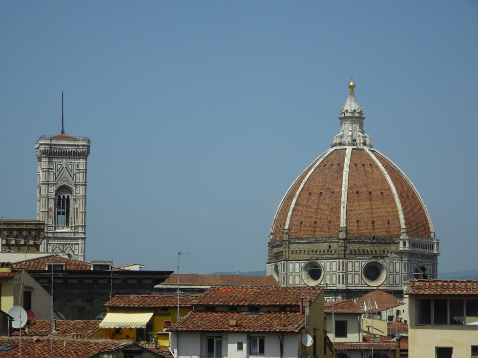 View of the Duomo from the Uffizi's windows