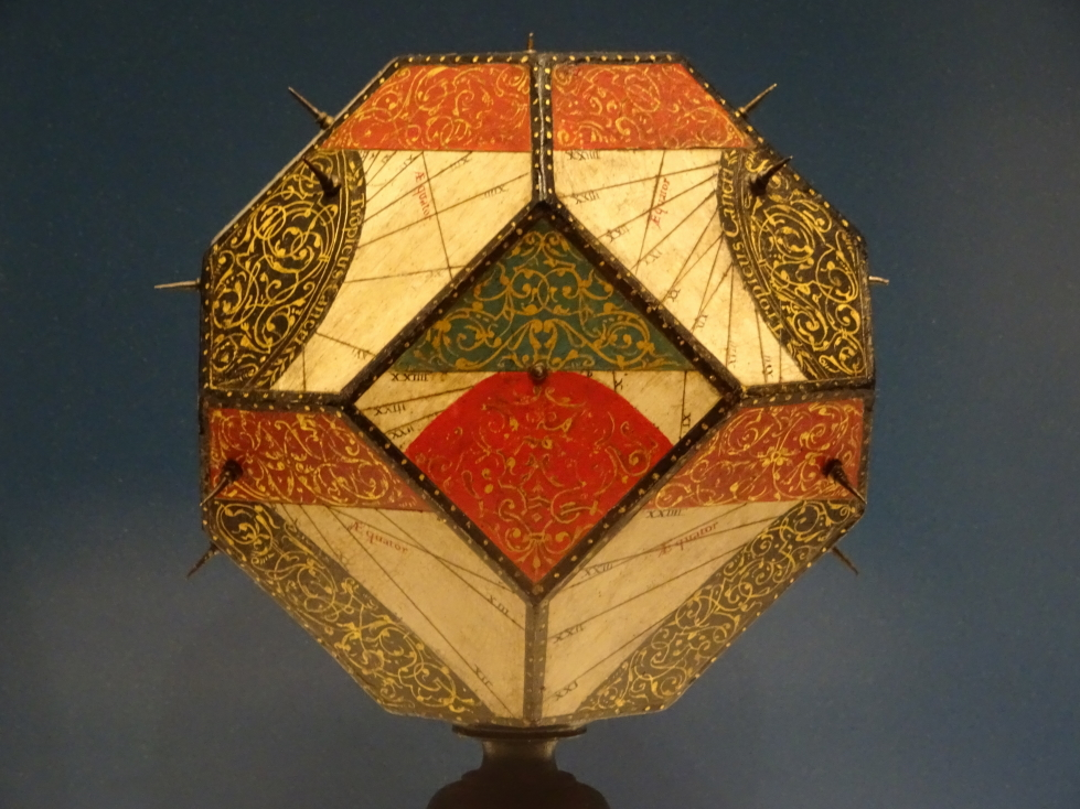 Polyhedral dial, from the Medici collection