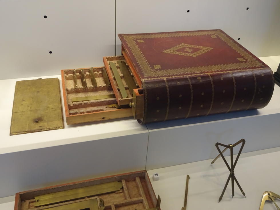Book-like case for instruments