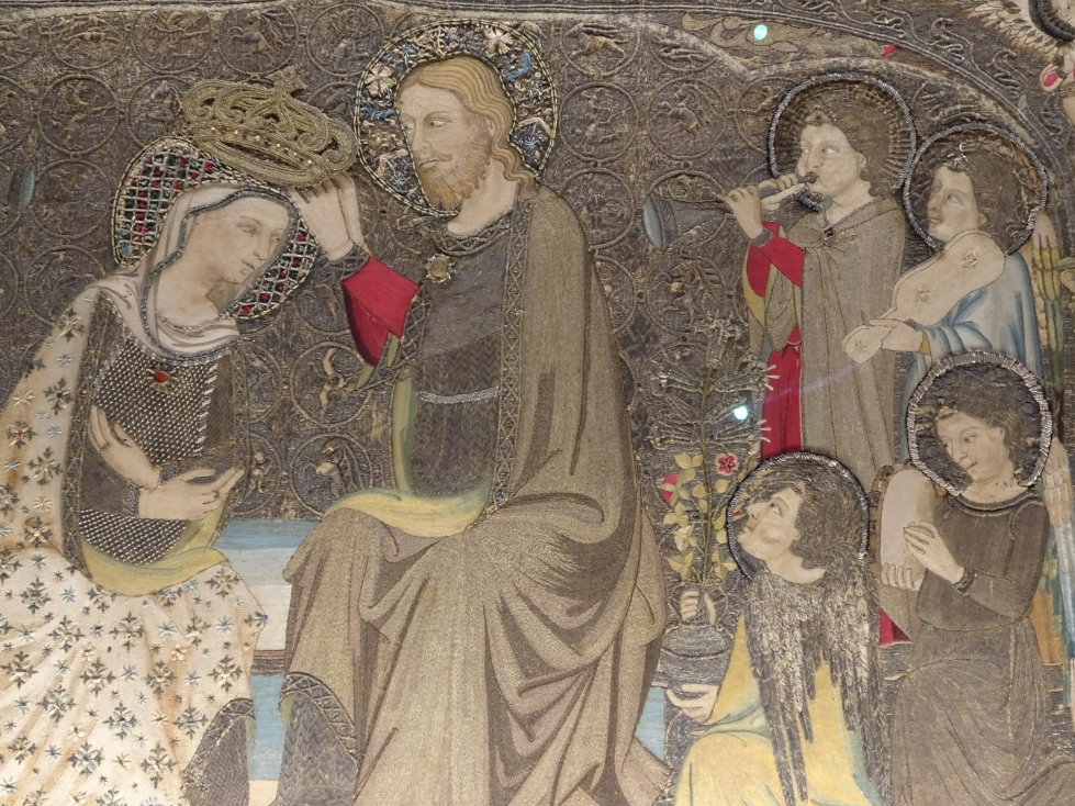 Amazing embroidery from the 1300s, made in Florence