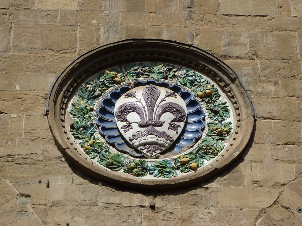 Little flourishes abound in Florence, like this symbol of the town