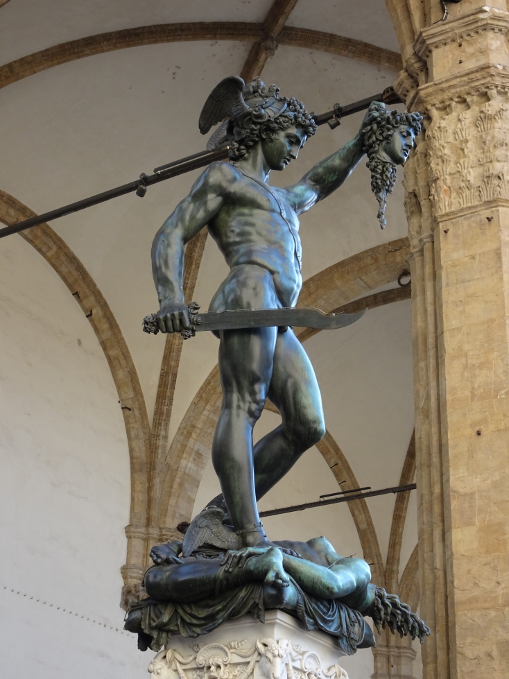 """Cellini's """"Perseus with the Head of Medusa"""", 1545"""