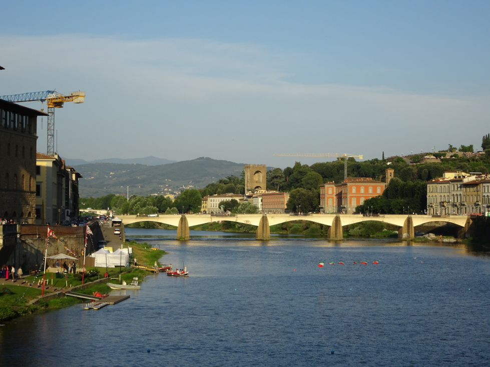 View of the Arno from Ponte Vecchio
