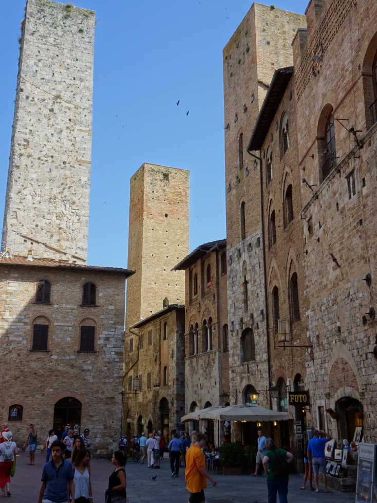 More shots of San Gimignano's towers