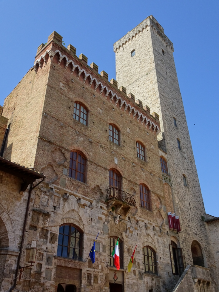 Torre Grossa, the tallest tower (at 177 feet) and last built (1311)