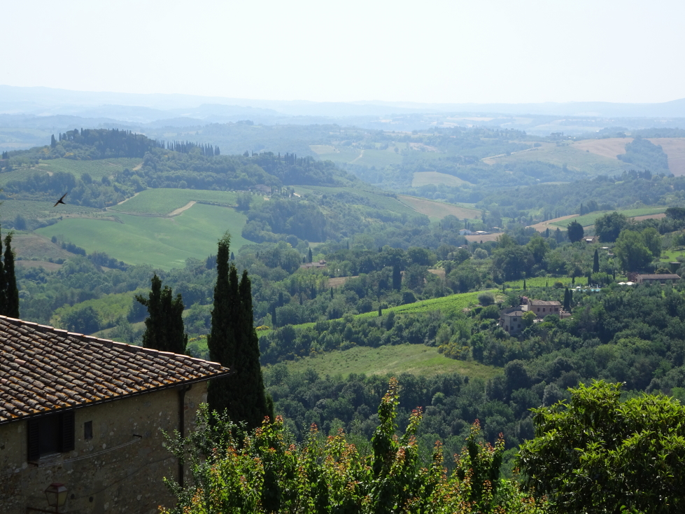 More views of the hills of Tuscany