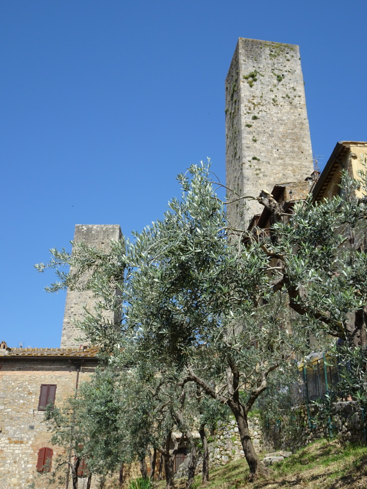 More views of the towers of San Gimignano
