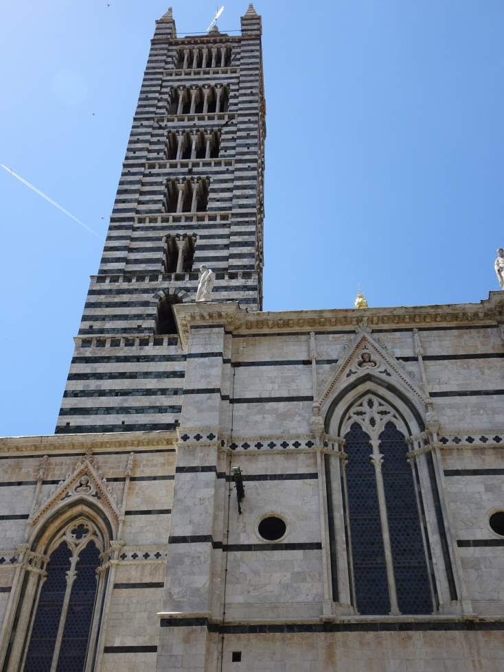 Siena cathedral's bell tower