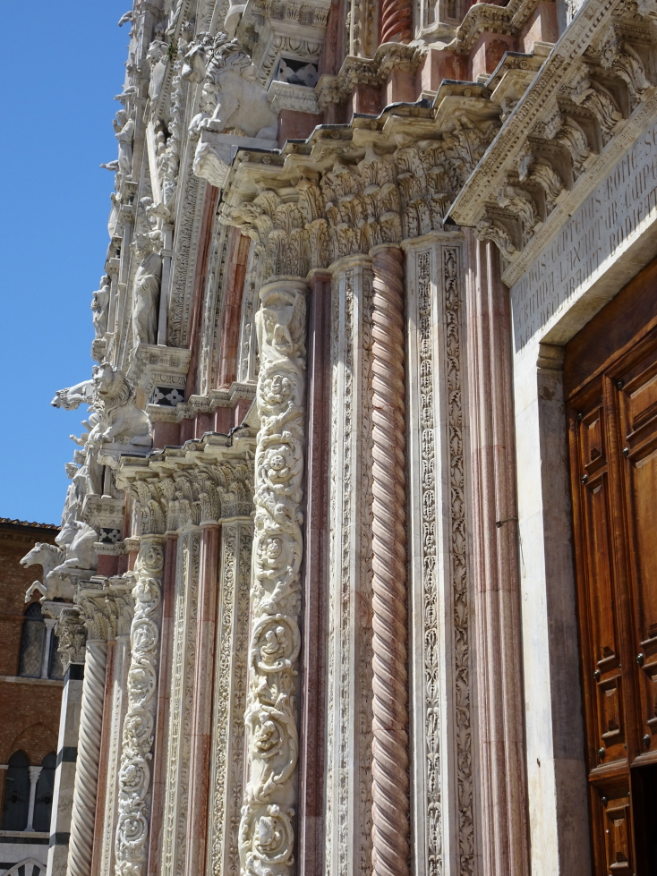 Incredibly ornate entrance to the cathedral