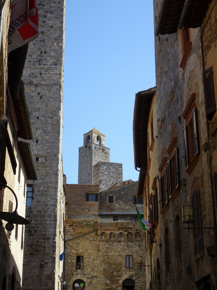 One of San Gimignano's towers