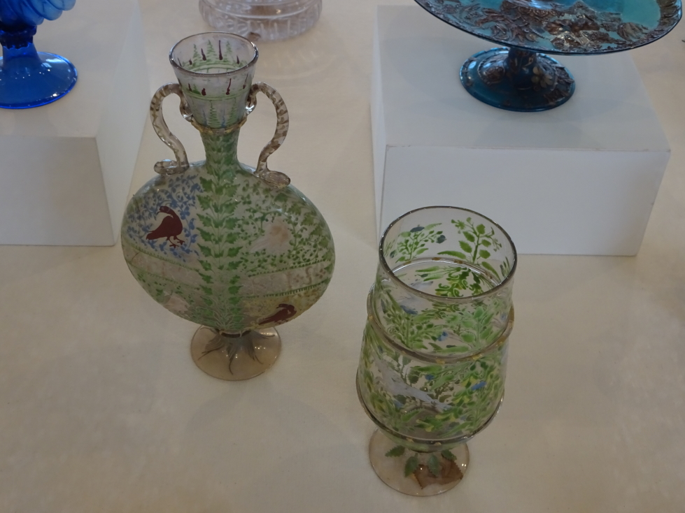 Beautiful glassware from the 1700s