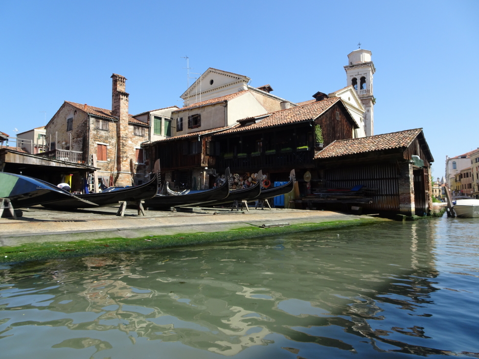 The second gondola factory we saw