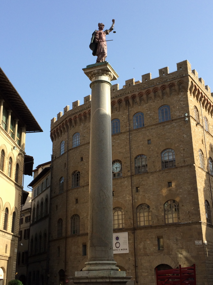 A statue in Florence