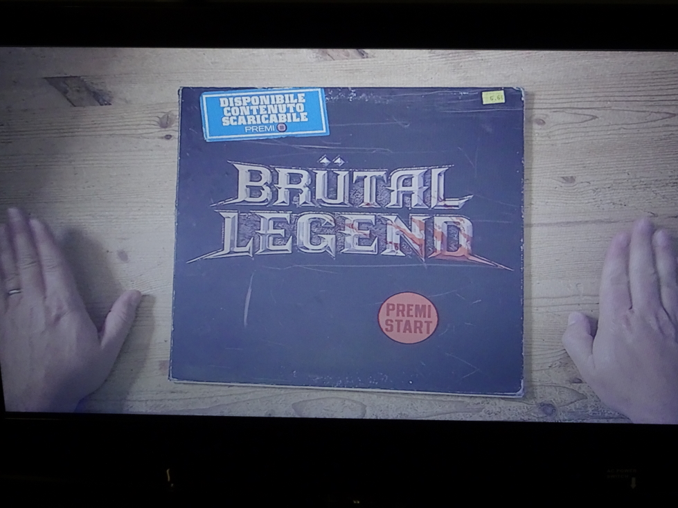 Brutal Legend, on of my favorite games, in Italian