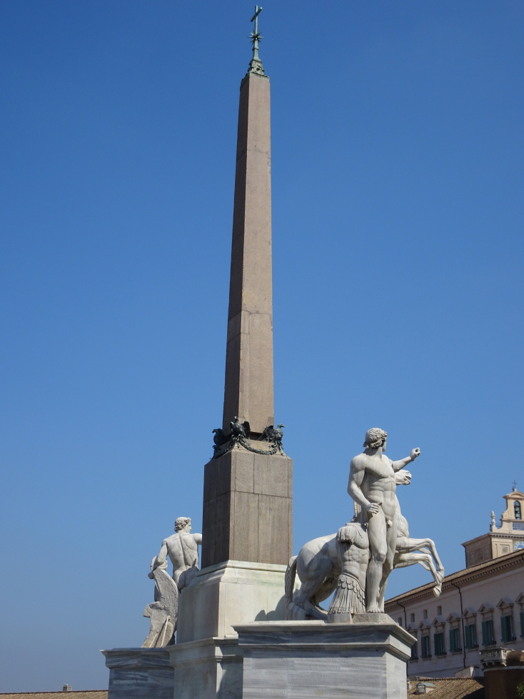 Obelisk in the Piazza del Quirinale