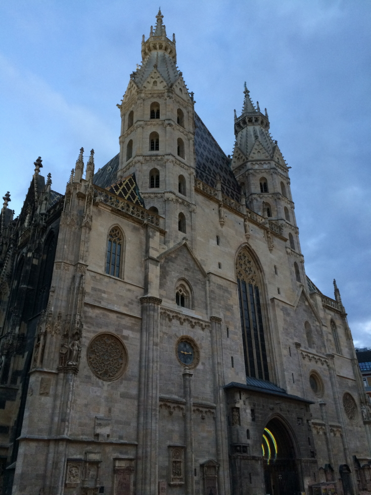Front of St. Stephen's Cathedral, Vienna