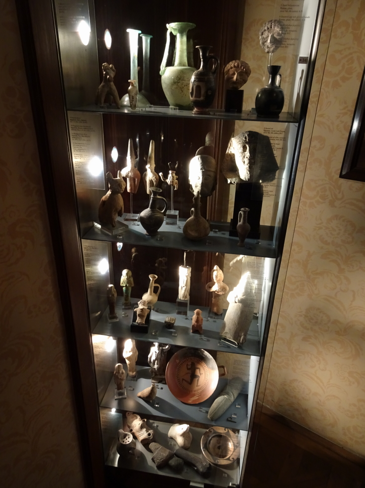 Some of the antiquities Freud had in his apartment