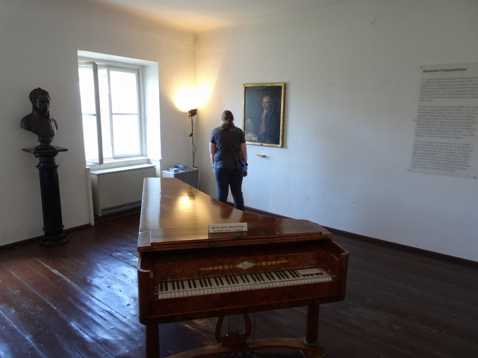 Beethoven museum in Vienna