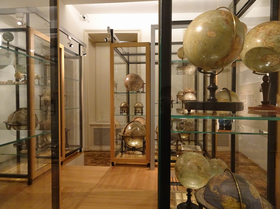 Even more globes -- I was in heaven!