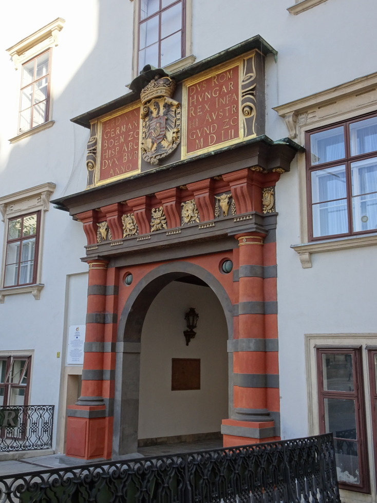 Gate in Hofburg Palace