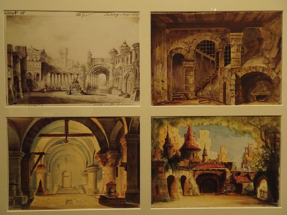 Set designs for operas at Haus der Musik