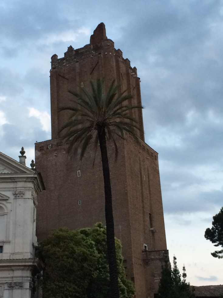 ...because of course I'd end with the Torre delle Milizie!