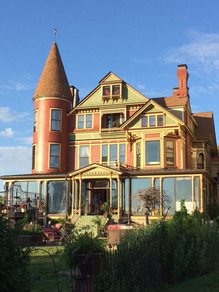 Baker House Victorian mansion turned hotel in Lake Geneva, Wisconsin