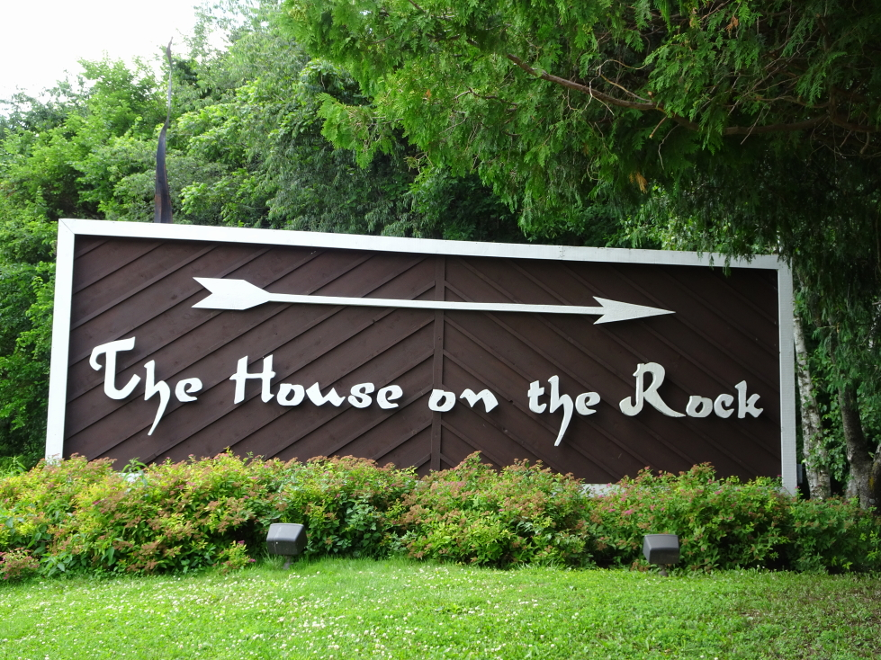Sign for The House on the Rock