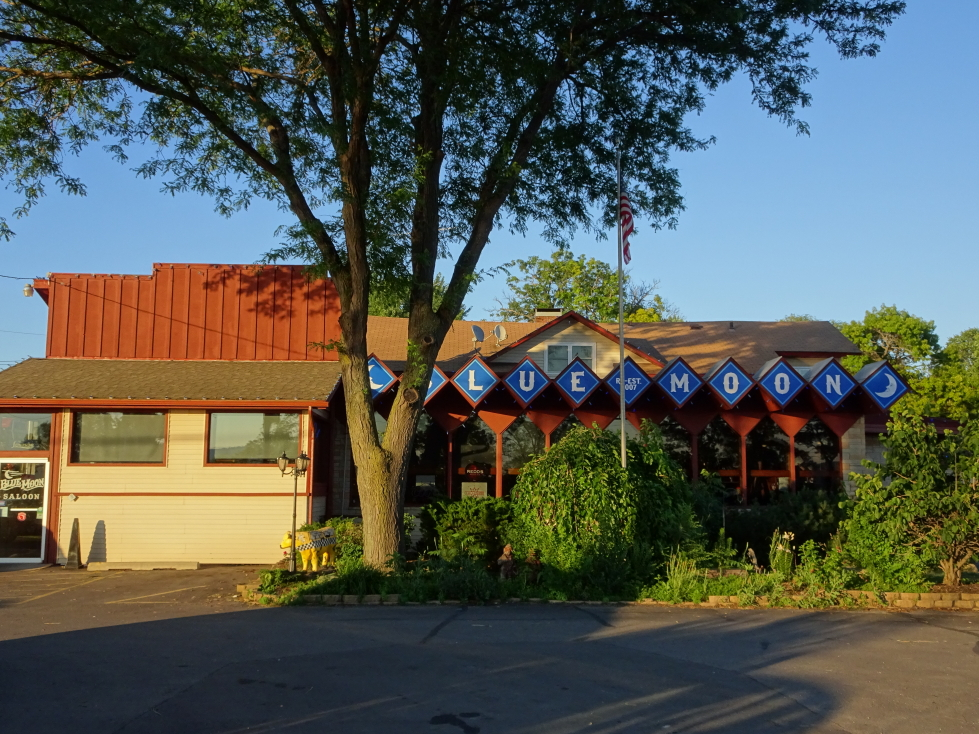 The Blue Moon Saloon in Onalaska, Wisconsin -- no relation to the brewery