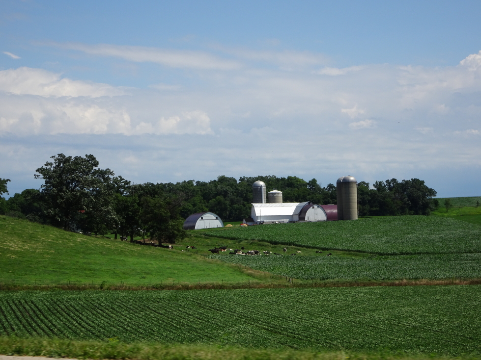 Wisconsin's beautiful farms