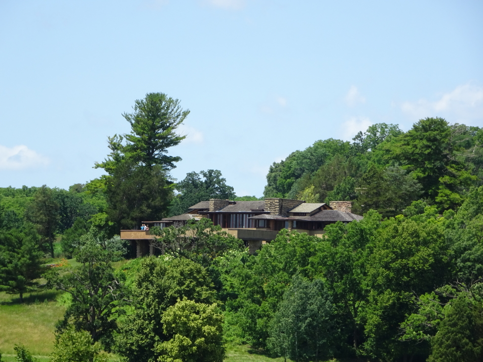 Taliesin as seen from the road