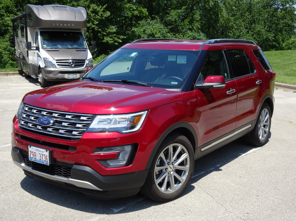 Our trusty steed for this journey, a Ford Explorer