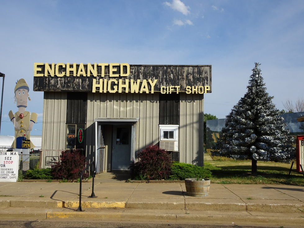 Enchanted Highway Gift Shop in Regent, North Dakota