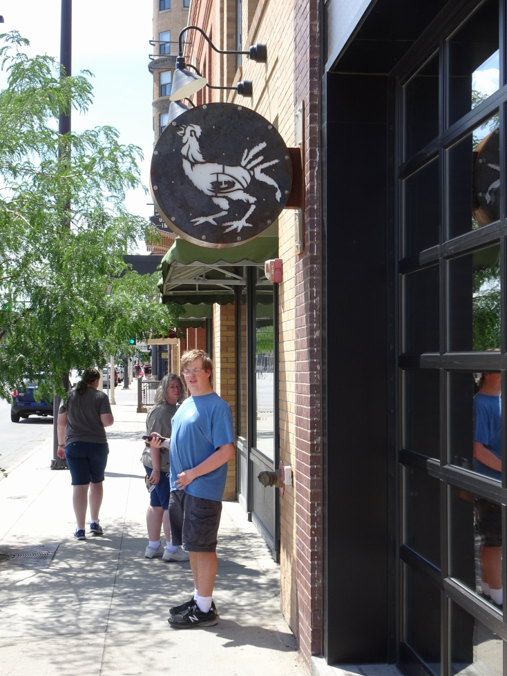 The Starving Rooster in downtown Bismark