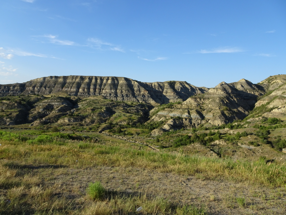 Scenery on the way to the North Unit of Theodore Roosevelt NP