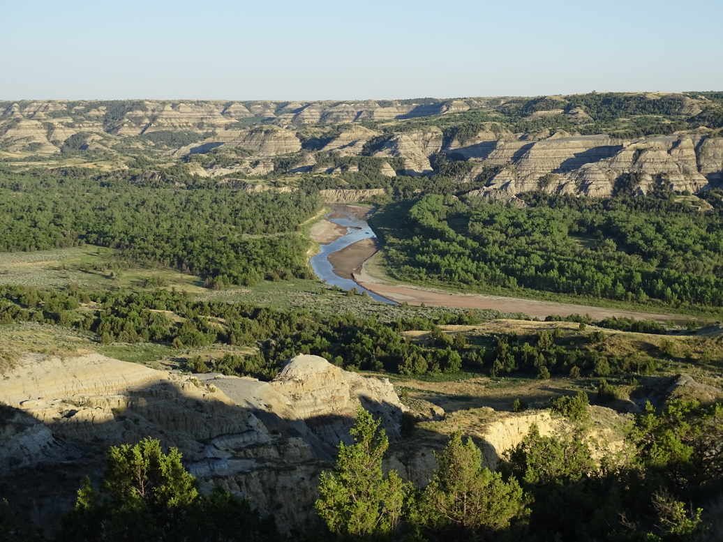 Bend of the Little Missouri River, most photographed spot in North Dakota!